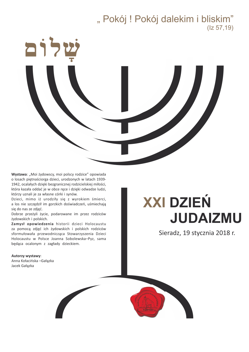 XXI Dzień Judaizmu w Sieradzu